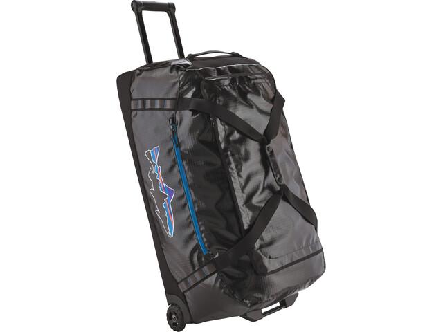 Patagonia Black Hole Wheeled Duffel Bag 120l black w/fitz trout